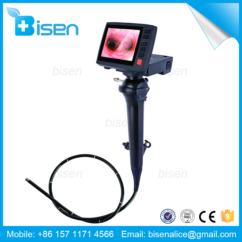 BS-A41 Portable Visible Ultra Slender And Flexible ENT Endoscopes With HD Camera