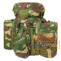 Military Backpack with molle and ISO standard nylon Thread Superior Quality with Metal Frame