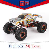Children 4wd nitro powered remote control car 1 10 truck toys, mad racing cross-country remote control car toys