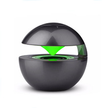 egg speaker plastic round wireless mini hot new portable blue tooth speaker with led light