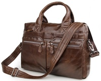 7122C-1 Mens Crossbody Bag Vintage Leather Messenger Bag Handbag