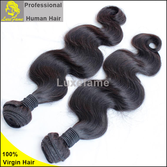 Luxefame hair Wholesale virgin peruvian remy human hair wave body wave texture bundles
