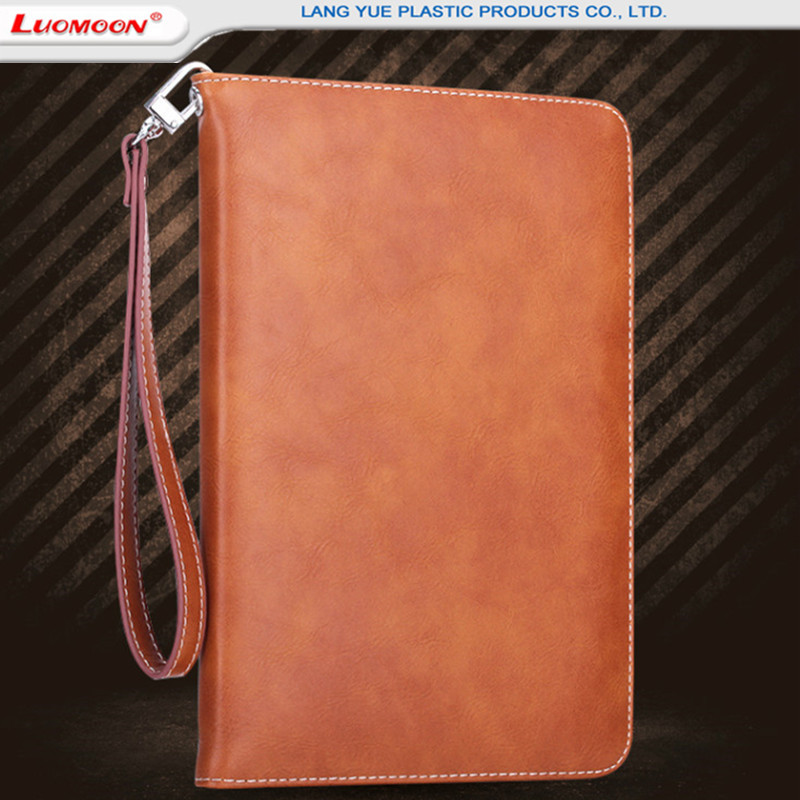 Wholesale Stand Wallet Leather Cases For Apple iPad mini/pro/air Universal Flip Leather Card Holder Case For iPad