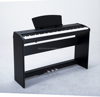 Black 88 Keys Digital upright Piano /Electronic Organ Instruments CDU-9