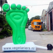 Inflatable advertising product,inflatable model advertisement,inflatable foot model for advertising