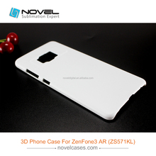 phone covers for Asus Zenfone 3 AR/ZS571KL,sublimation 3d blank