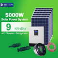 BESTSUN china wholesale home solar power system home 3kw 5kw 10kw off grid home solar systems
