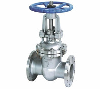 Hastelloy flange hard seal stem Gate valve C(CW-12MW)