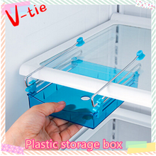 Kitchen storage box multi-purpose plastic drawer