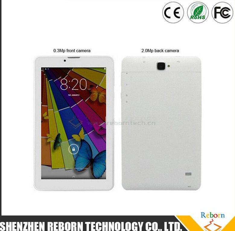 IPS Tablet 7 inch MTK8382 Quad Core 3G Phablet 1G 8G Android 4.4 Tablet Phone