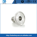 "1 1/2"" DN40 Stainless Steel SS316 Sanitary Male Threaded Ferrule OD 64mm fit 2"" Tri Clamp"