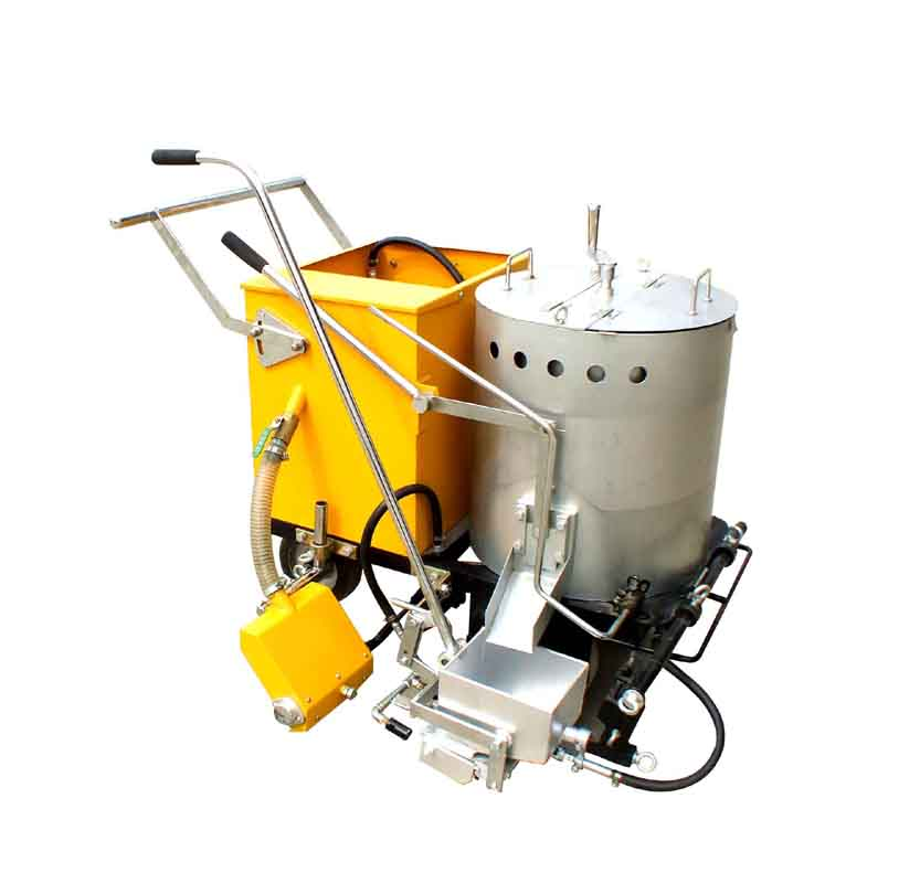 hot melt preheated pavement marking machine