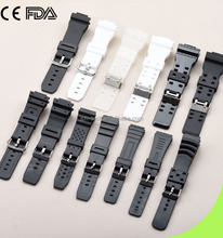 Rubber Watch Bands Strap For GA100 DW6900 DW5600