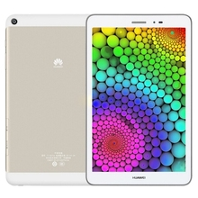 Free sample Huawei Honor T1-821W, 2GB+16GB 8 inch Android 4.4, Emotion UI 2.3, Snapdragon MSM8916 Quad Core 1.2GHz, GPS(Gold)