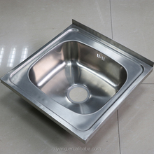 right angled stainless steel cheap kitchen sinks