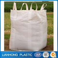 Virgin polypropylene 500kg jumbo bag for scrap,sand,rock, construction use 1 ton bulk bag, good design pp big bag for cement