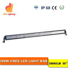 "Best Auto Electrical System 50"" LED Offroad Light Bar 288w Off Road 12v Led Light Bar For Trucks"