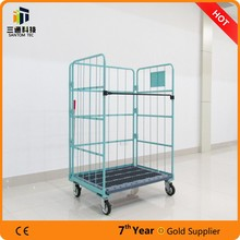Powder Coated Folding Roll Cage roll container