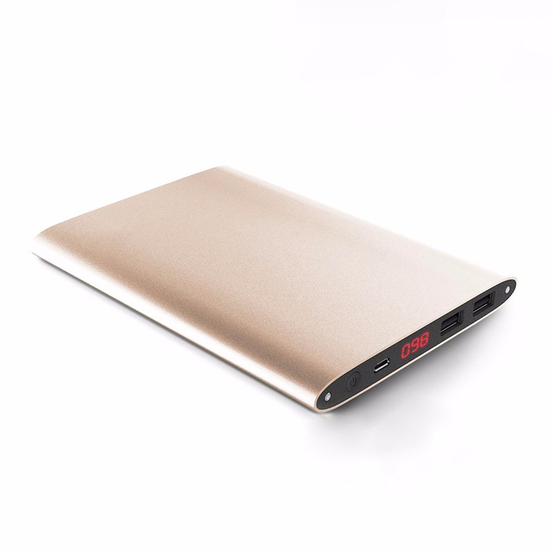OEM ODM rechargeable slim power bank 20000mah