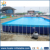 Durable PVC material inflatable removable metal frame pool for sale