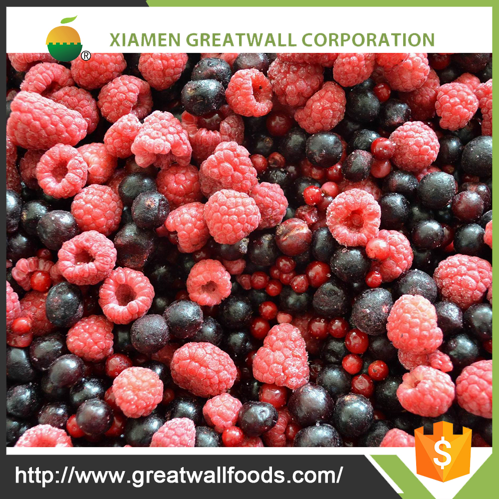 2016 Chinese frozen berries mixed