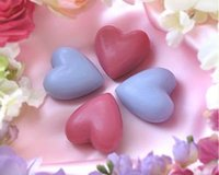 French Heart Shaped Soaps from Provence