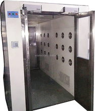 All Steel Automatic Cleanroom Air Shower For Clean Room Project