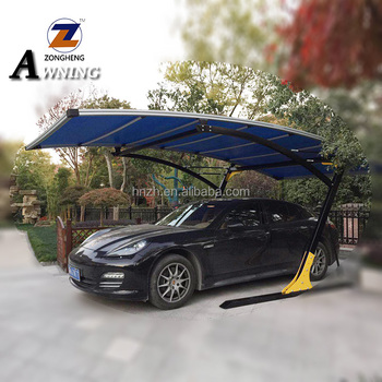 2018 high quality modern design 1 car steel carport