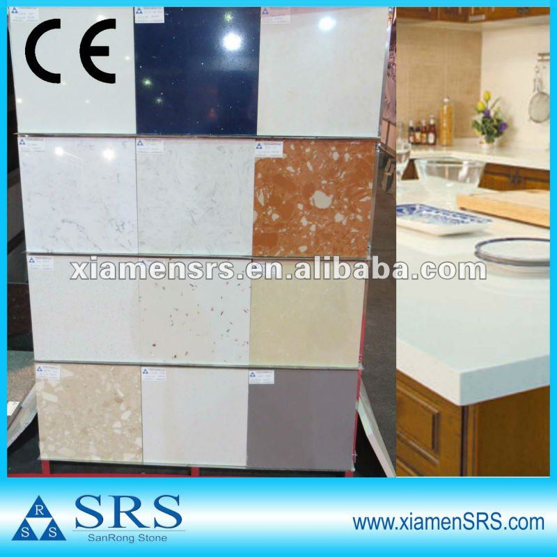 China various colors solid surface artificial paving stone