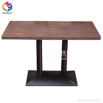 Modern used cheap wood coffee table for cafe furniture