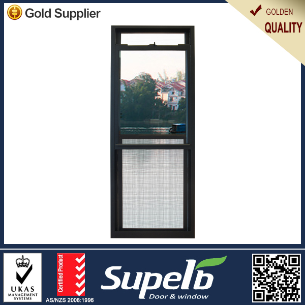 Aluminum vertical sliding window kitchen window with Certification