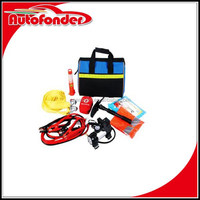 ultimate survival preparedness kit/car survival emergency first aid kit/emergency road assistance kit