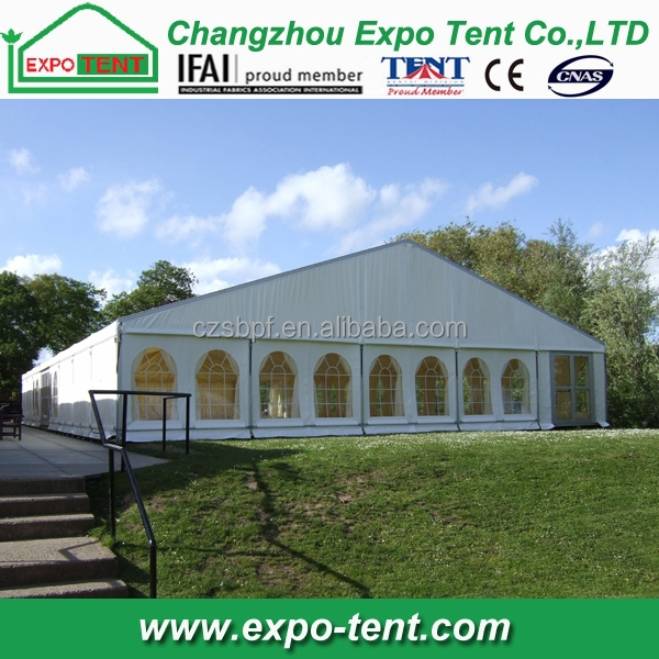 High-class 1000 people party wedding tent in Ghana