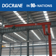 Overseas Service Electric Cantilever Lifting Jip Crane For Lifting