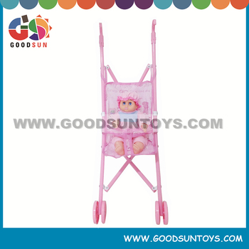 New toys Strollers for doll with stroller pink color doll stroller