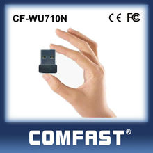 Mini Half-Size USB 2.0 Wireless Network Card Adapter High Power Wifi 802.11n USB Adapter for Android COMFAST CF-WU710N
