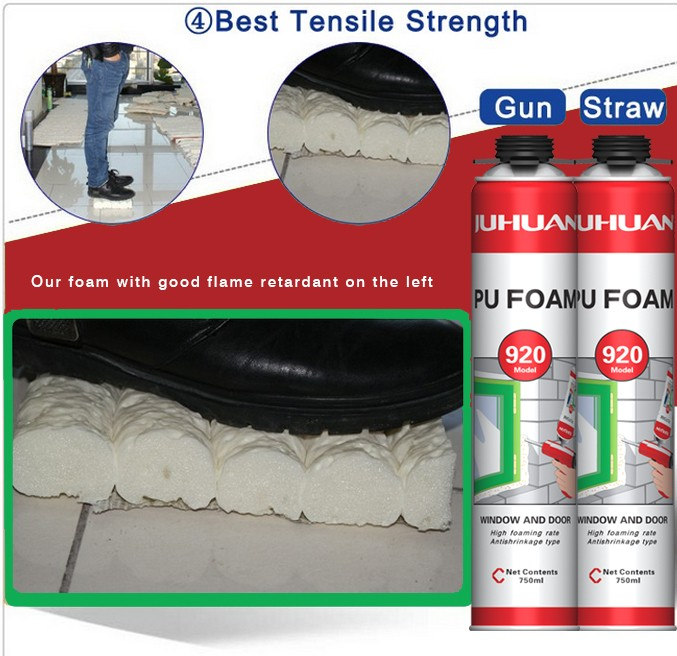 JUHUAN spray polyurethane foam
