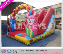 Lilytoys high quality indoor inflatable slide for sale