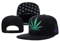 High quality hip hop 6 panel hat cap adjustable black green china cotton custom snapback hat baseball cap soprt hat