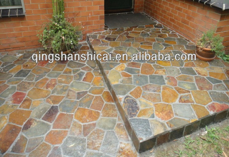 Natural Rusty Slate Cheap Patio Paver Stones Buy Cheap