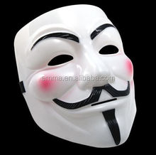 V For Vendetta Mask Occupy Wall Street Anonymous Guy Fawkes Face Mask Halloween MK122