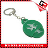 Fashionable carved logo brand logo key chain