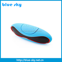 wholesale rohs mini bluetooth speaker with mic handsfree functions and good sound performance