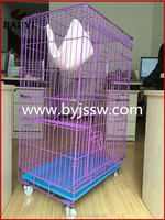New Suitcase Folding Colorful Cat Cage For Sale With High Quality And Best Design