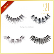 custom packaging 100% human hair eye lashes