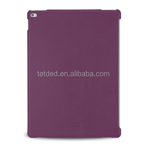 TETDED Premium Leather Case for Apple iPad Pro -- CaenA (LC: Purple) for Keyboard Connector
