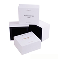 Custom made luxury color gift paper jewelry packaging box jewelry gift box