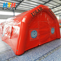 Hot Sale outdoor winter inflatable tent with led light