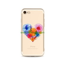 Colour Love Heart Balloon phone Case for iPhone 7 8 plus