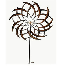 Outdoor wrought iron Metal garden yard decoration windmill